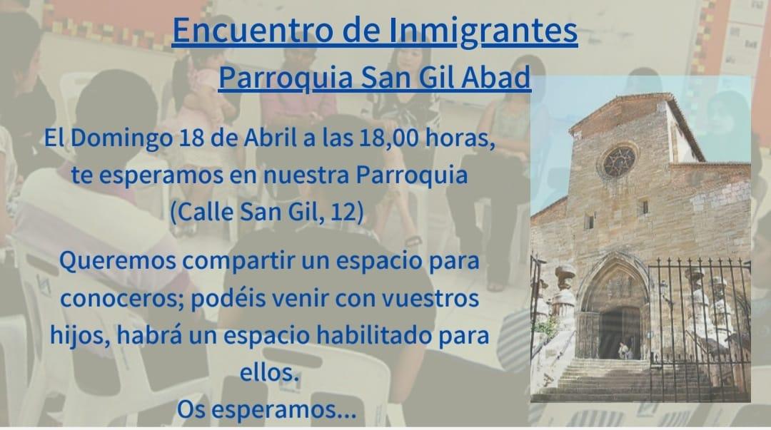 Encuentro de inmigrantes